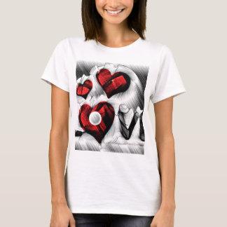 Camiseta Bosquejo del amor