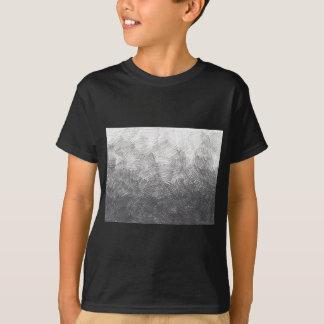Camiseta Bosquejo del lápiz. Movimientos de la marca de