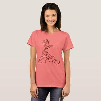 Camiseta Bosquejos del bailarín del flamenco