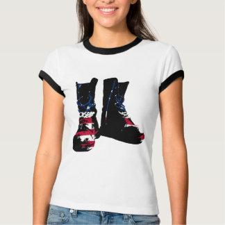 Camiseta Botas de combate de los E.E.U.U.