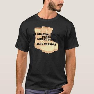 Camiseta Botas de combate del desierto de la nieta del