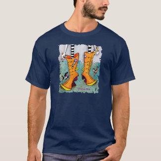 Camiseta Botas de Venecia Acqua Alta - niños cómicos