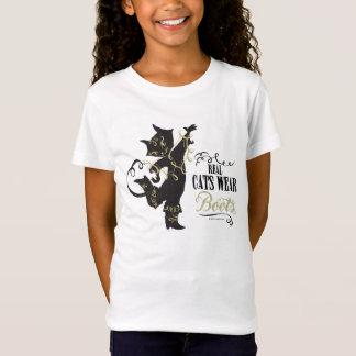 Camiseta Botas reales del desgaste de los gatos