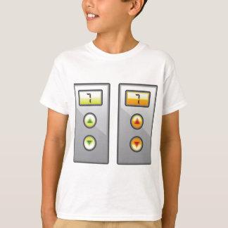 Camiseta Botones del elevador