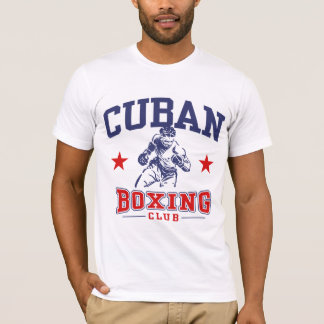 Camiseta Boxeo cubano