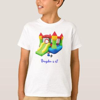 Camiseta ¡brayden la camiseta, Brayden es 4!!
