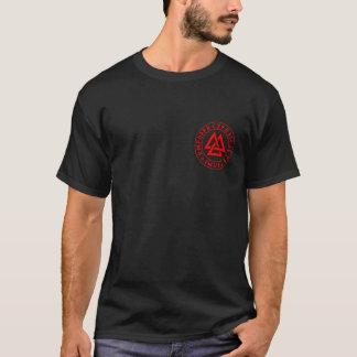 Camiseta brazos, cuchillas y doncellas