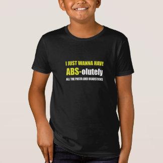 Camiseta Breadsticks de las pastas del ABS
