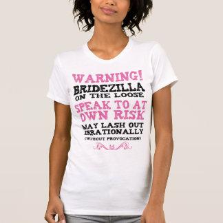 Camiseta Bridezilla en el flojo