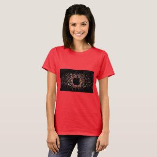 camiseta brillante de la manzana