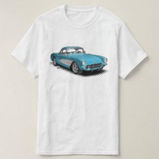 Camiseta brillante del azul 56-57 StingVetteRay