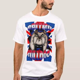 Camiseta británica, británica del dogo con el