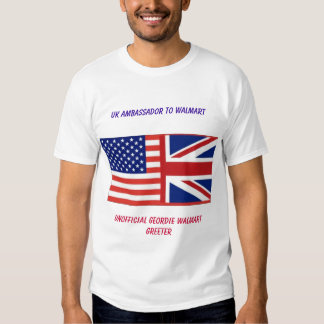 Camiseta BRITÁNICA oficiosa de Walmart (ASDA) Gree
