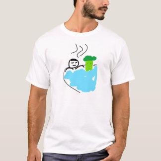 Camiseta Bróculi lindo en aguas termales