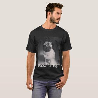 Camiseta Brote blanco y negro