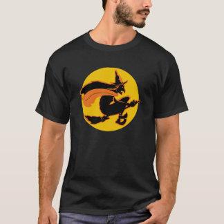 Camiseta Bruja de Halloween del vintage