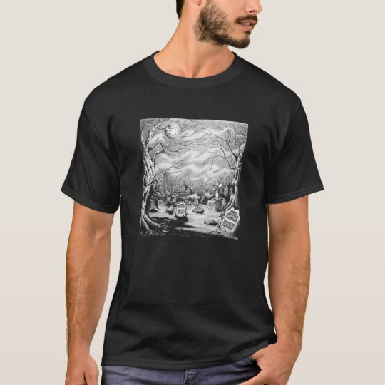 Camiseta Bruja del cementerio