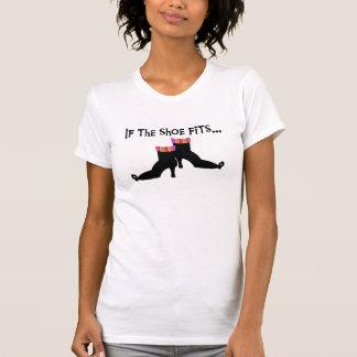 Camiseta Bruja si los ajustes del zapato
