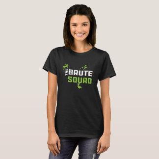 Camiseta bruta del pelotón del flip-flop