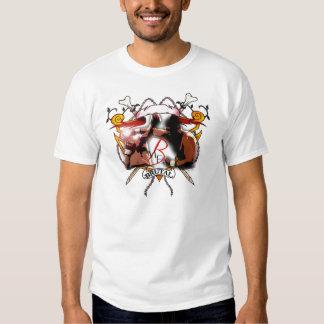 """Camiseta brutal del músculo del """"boxeo"""" de la musa"""