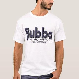 """Camiseta Bubba U. (universidad) """"escuela del sentido común"""