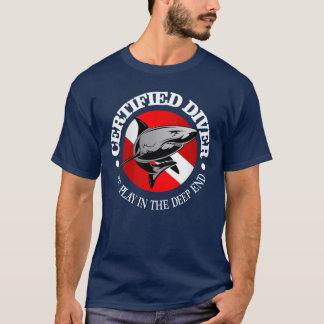 Camiseta Buceador certificado (tiburón)
