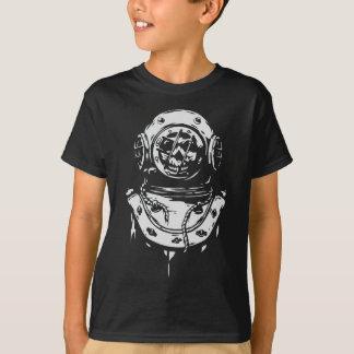Camiseta Buceador con el cráneo