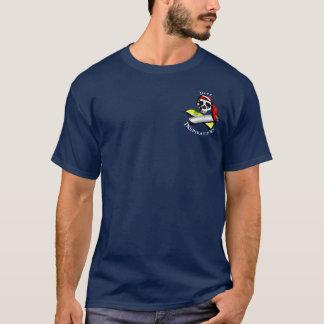 Camiseta Buceador del pirata - oscuridad llevada vintage