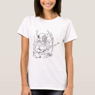 Camiseta Buceador profundo del mar profundo