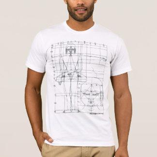 Camiseta Buda esquemático