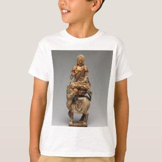 Camiseta Buda Shakyamuni con bodhisattvas acompañantes