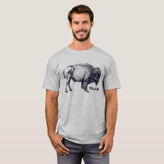 Camiseta Búfalo del vegano