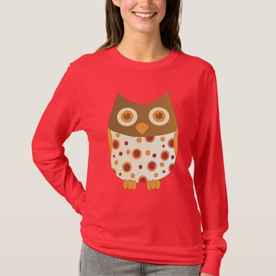 Camiseta Búho caliente
