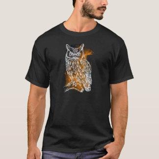 Camiseta Búho cósmico