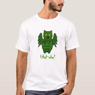 Camiseta Búho de Cthulhu
