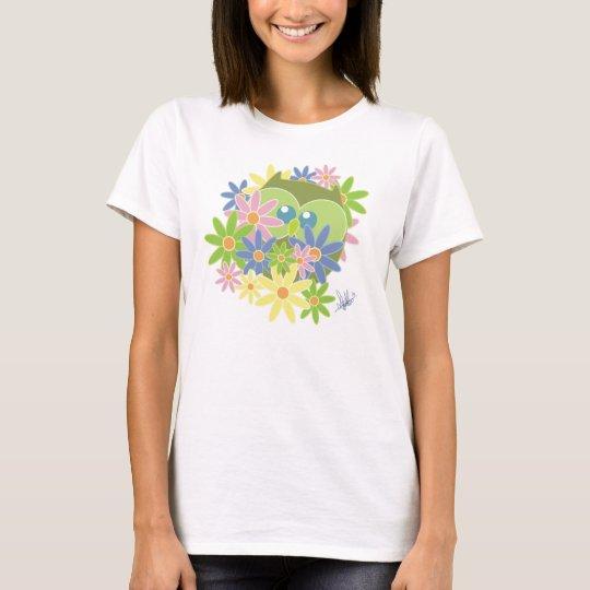 Camiseta Búho del peekaboo
