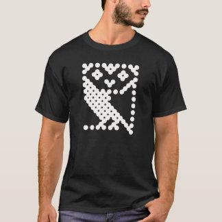 Camiseta Búho micro de la BBC - blanco grande