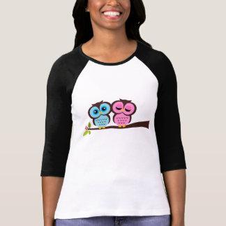 Camiseta Búhos preciosos
