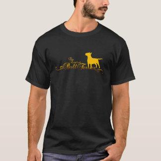 Camiseta BULL TERRIER de oro