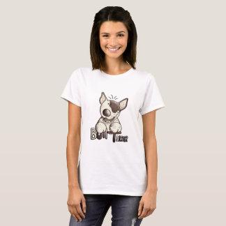 Camiseta Bull terrier feliz