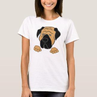 Camiseta bullma que mira a escondidas fawn.jpg rojo
