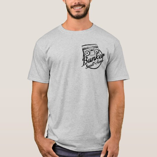 Camiseta Bunker Sweet Home Grey