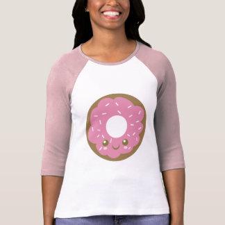 Camiseta Buñuelo rosado lindo