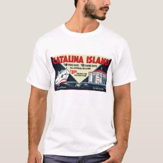 Camiseta Buque de vapor de la isla de Catalina del vintage