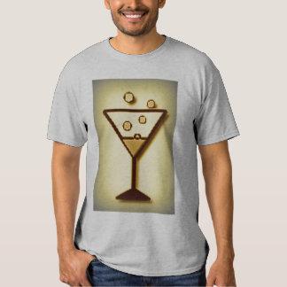 Camiseta burbujeante de la impresión de las