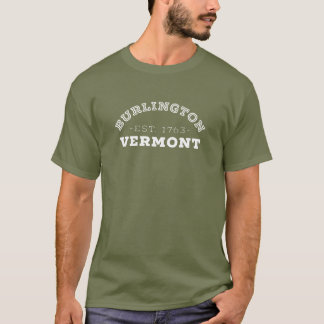 Camiseta Burlington Vermont