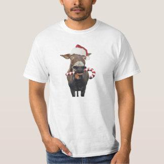 Camiseta Burro del navidad - burro de santa - burro santa