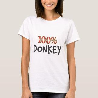 Camiseta Burro el 100 por ciento