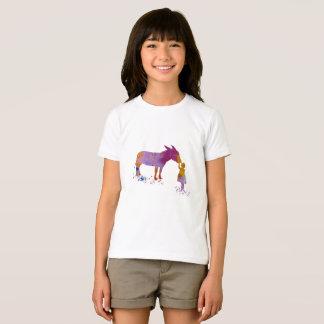 Camiseta Burro y niño