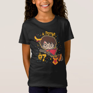 Camiseta Buscador de Harry Potter Quidditch del dibujo
